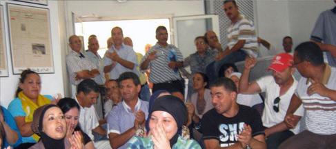 Tunisie: Le syndicat de base de Dar Assabah rejettera toute décision émanant de Lotfi Touati