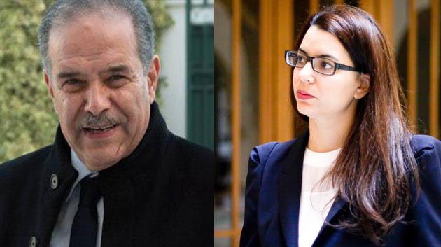 Amel Karboul et Ridha Sfar