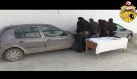 Tunisie- Démantelement d'une cellule terroriste à Tunis