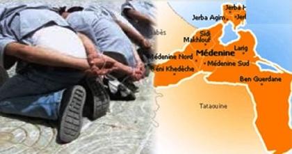 Tunisie – Ben Guerdene : Arrestation de 5 terroristes entrainés à Sobratha et entrés en Tunisie pour y commettre des attentats