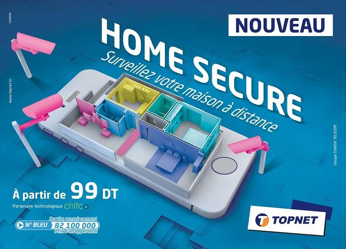 Topnet lance « Home Secure », sa première solution d'objets connectés