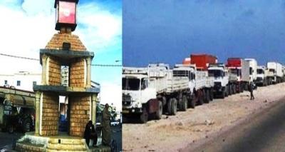 tunisie les commer ants de ben guerdene emp chent le passage des camions libyens part 288980. Black Bedroom Furniture Sets. Home Design Ideas