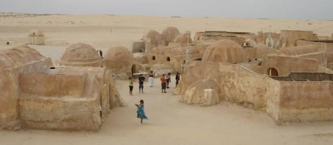 Le sud tunisien d cors pour le tournage d 39 un film chinois - Paysage star wars ...