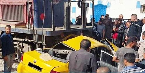 Tunisie – Grombalia :4 morts dans un accident de train