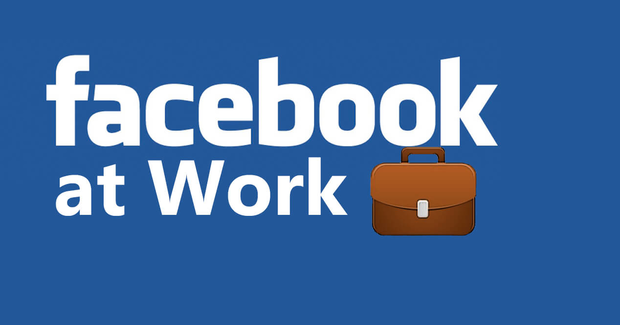 logo facebook at work