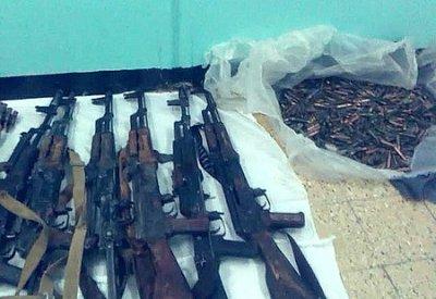 Opérations sécuritaires: Saisie de 36 Kalachnikovs et 3 lance-roquettes RPG