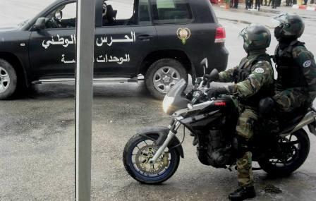 Tunisie – Bizerte : Blessure d'un agent de la garde nationale au cours d'une arrestation