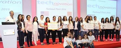 Technovation Tunisia : 19 équipes de jeunes lycéennes développeuses s'affrontent lors de la journée de pitching national pour une place en finale à la Sillicon Valley !
