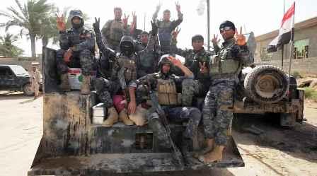 Irak : L'armée libère la ville d'Al Fallouja et écrase Daech