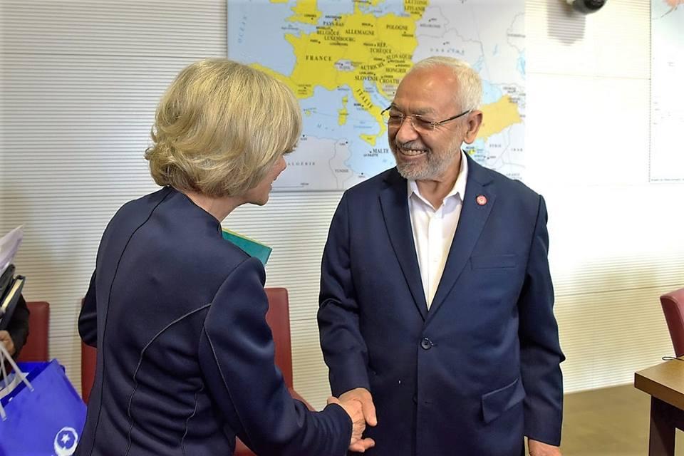 Tunisie- Rached Ghannouchi entame une visite à Paris