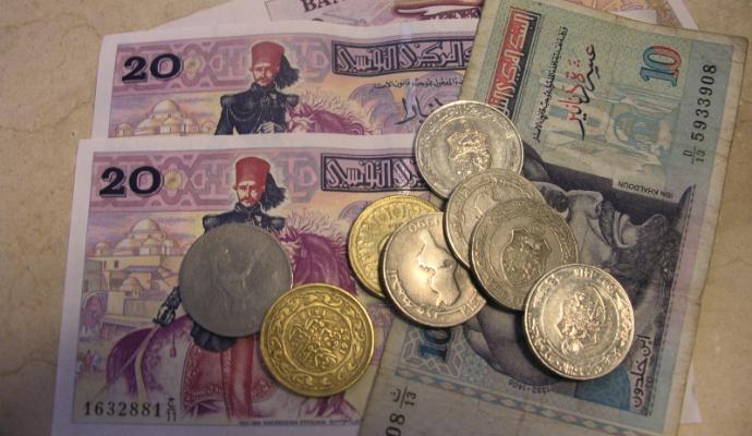 le dinar tunisien continue s 39 effriter min par la situation conomique part 296068. Black Bedroom Furniture Sets. Home Design Ideas