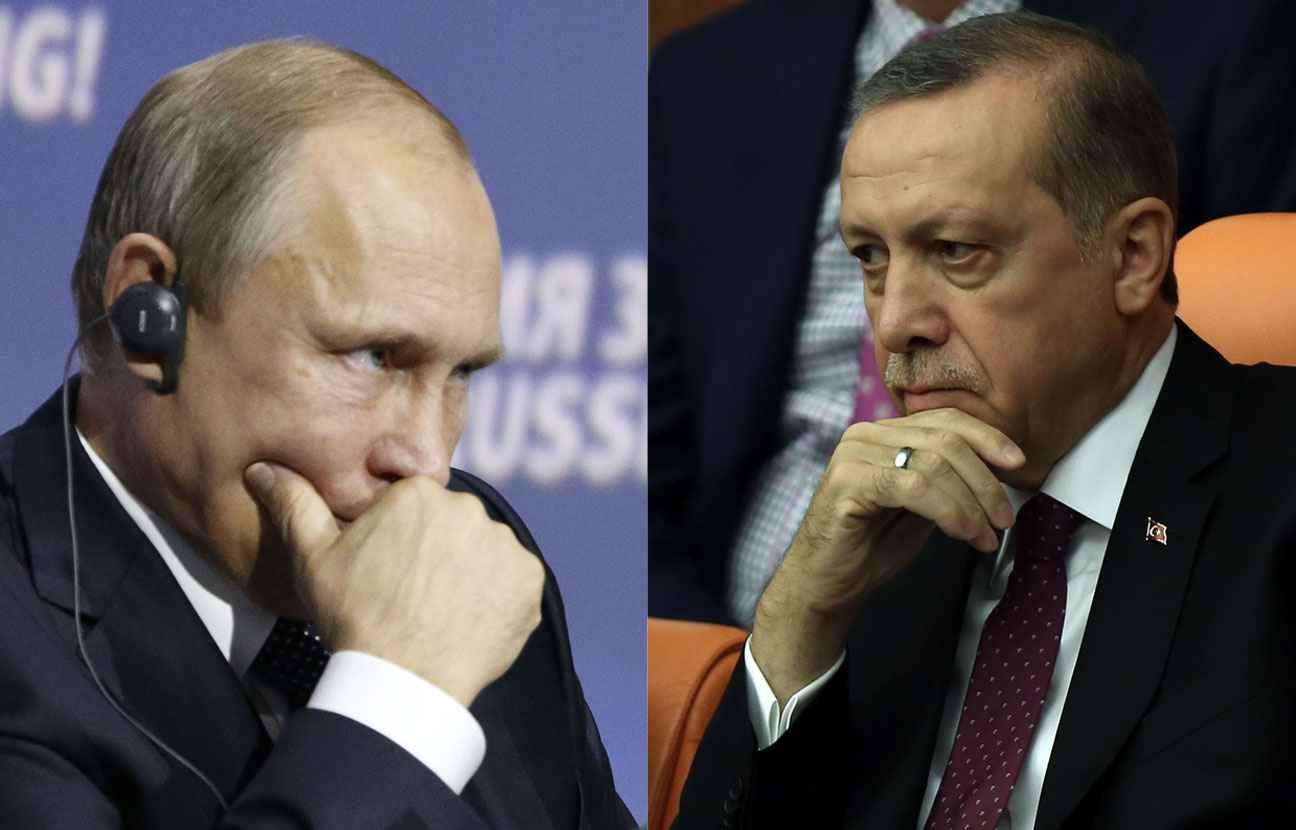 Erdogan présente ses excuses à Vladimir Poutine pour le chasseur russe abattu par la Turquie
