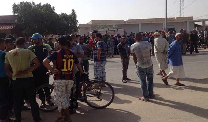 Protestations à Remada après le décès d'un contrebandier