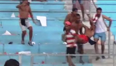 Tunisie – Actes de vandalisme lors de la finale de la coupe : Un supporter du CA gravement blessé