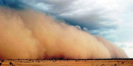 Tunisie – Tempête de sable et pluies torrentielles à Kébili
