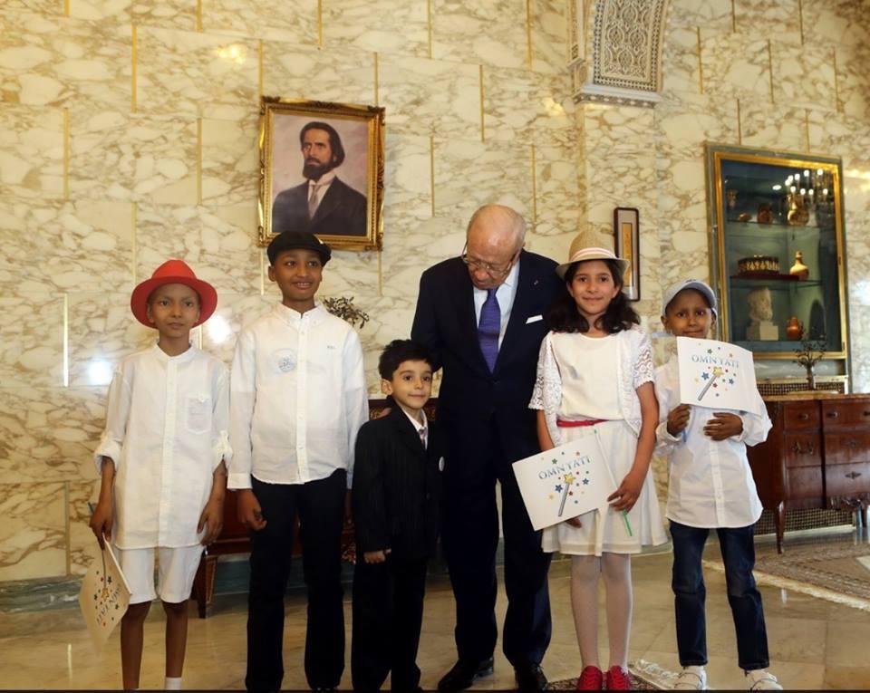 Le petit Ali qui a exaucé son rêve de visiter le palais présidentiel décède