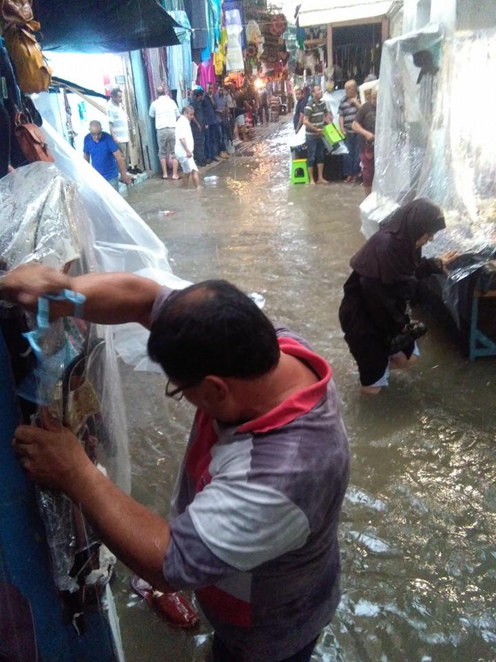 Face à aux précipitations : le triple problème de la pollution, du manque de civisme et de l'infrastructure