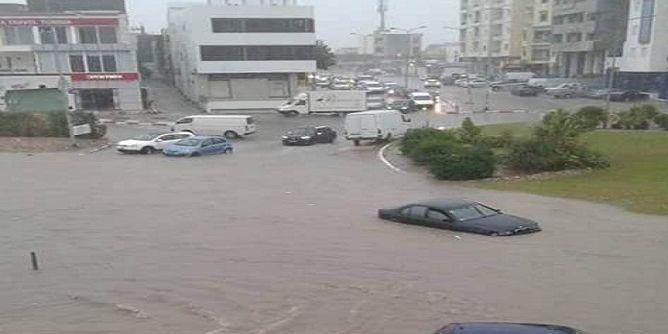 Tunisie (Photos): Inondations dans plusieurs villes tunisiennes après des pluies torentielles