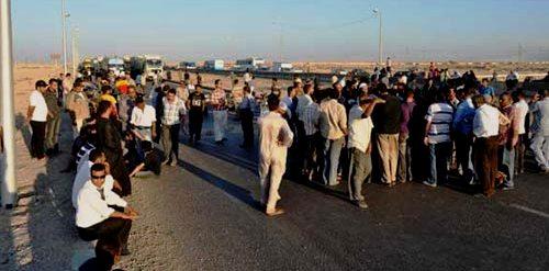 Tunisie – Les habitants de Sidi Khalifa bloquent l'autoroute Tunis Sousse