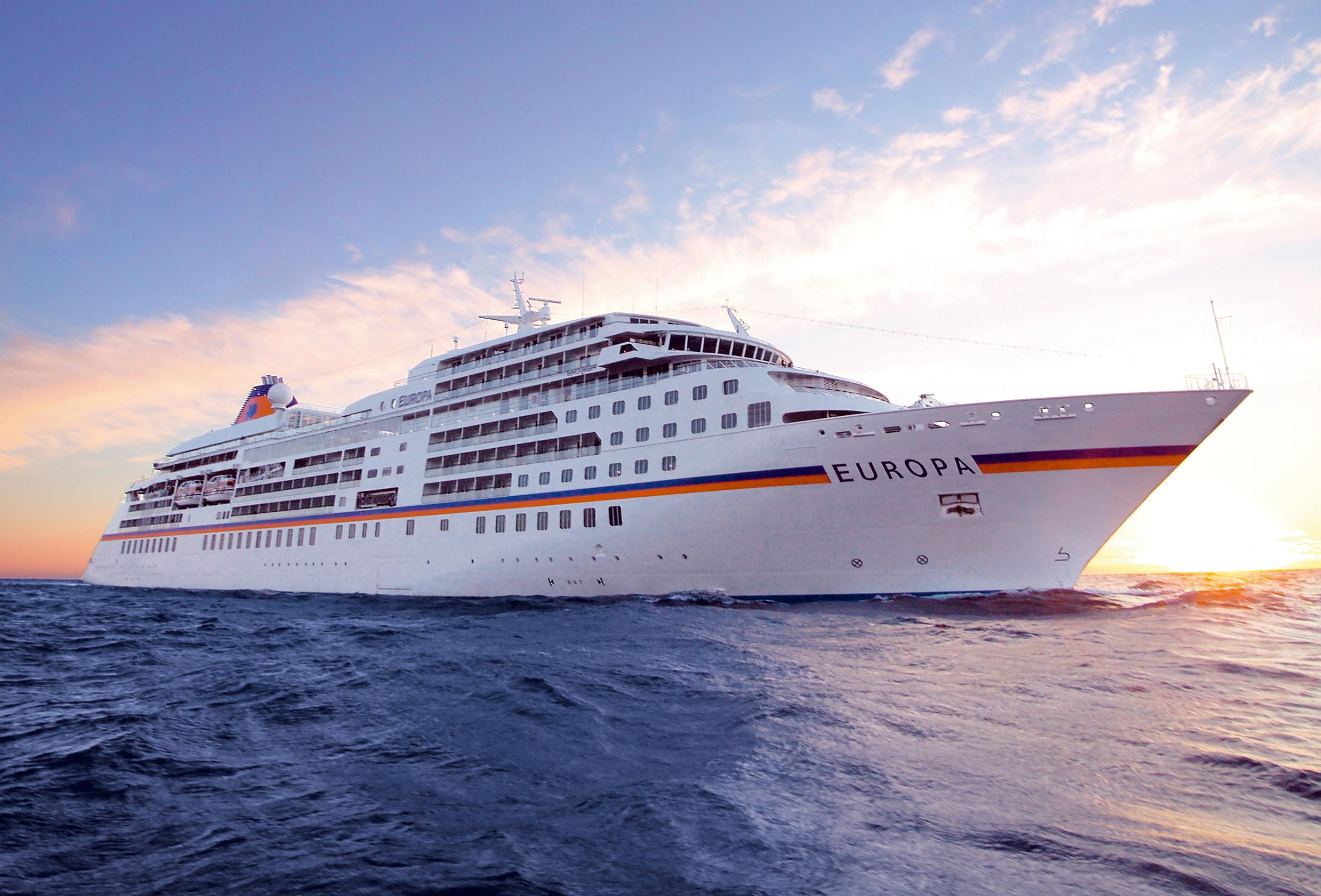 350 passagers VIP à bord d'Europa qui accoste aujourd'hui à la Goulette