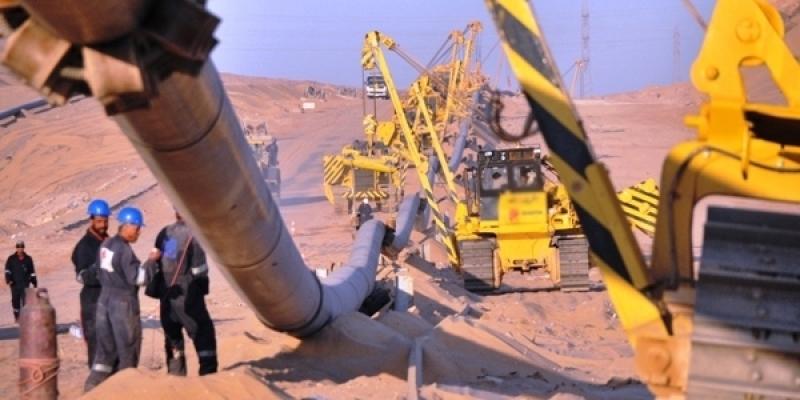 """L'exploitation du projet """"gaz du sud"""" fixée pour début 2018"""