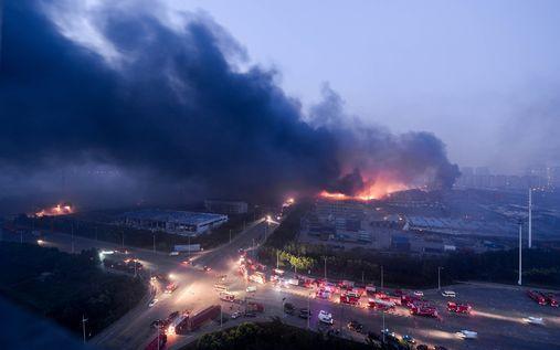 Explosion mortelle en Chine, dégâts considérables
