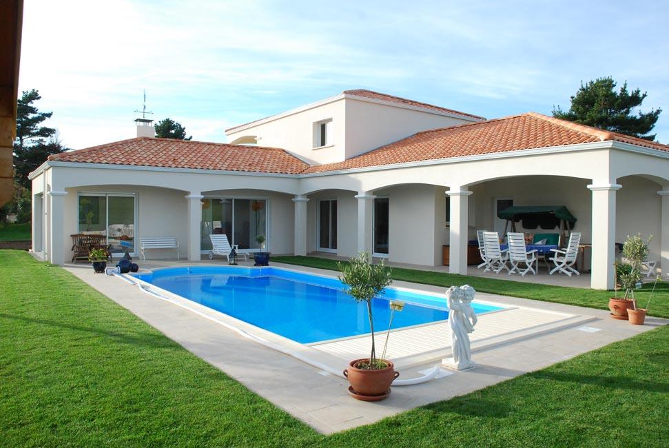 1000 dinars de taxe aux propri taires des maisons avec piscine - Maison en u avec piscine ...
