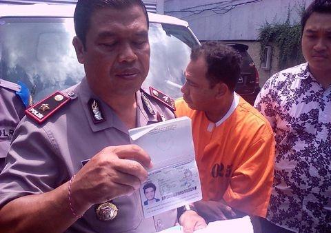 Selon la police indonésienne, Aziz Farhat était mort renversé par une voiture