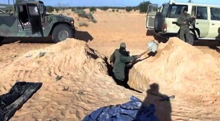 Une cache d'armes découverte à Ben-Guerdane