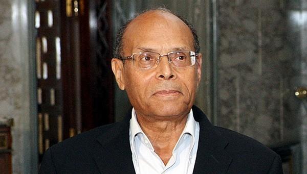 Moncef Marzouki félicite les accusés libérés dans l'affaire du meurtre de Lotfi Nagdh