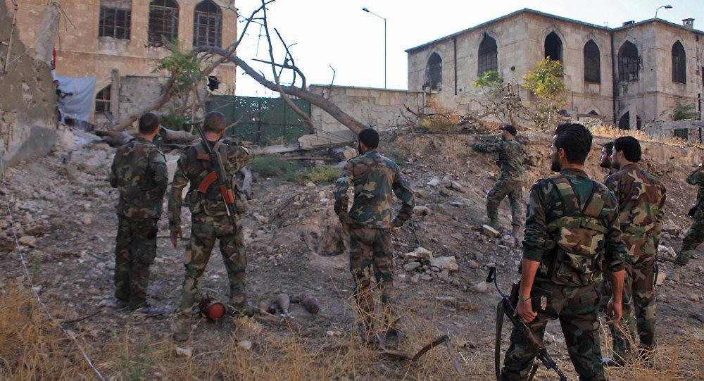 L'armée reprend un important quartier rebelle d'Alep — Syrie