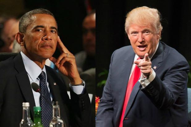 Le torchon brûle entre Trump et Obama