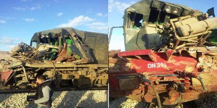 Tunisie – Journée noire pour les trains : Un deuxième accident de train cause un mort et deux blessés