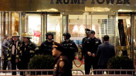USA : New York : Evacuation urgente de la Tour de Trump pour cause de colis suspect