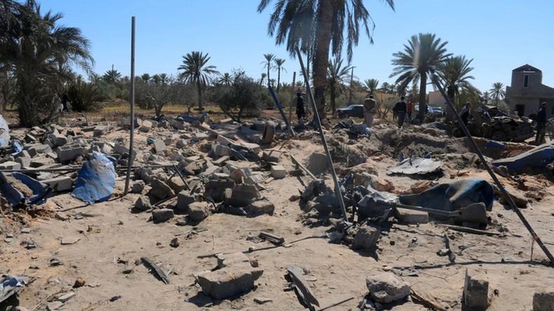Les Etats-Unis ont bombardé un camp de Daech en Libye