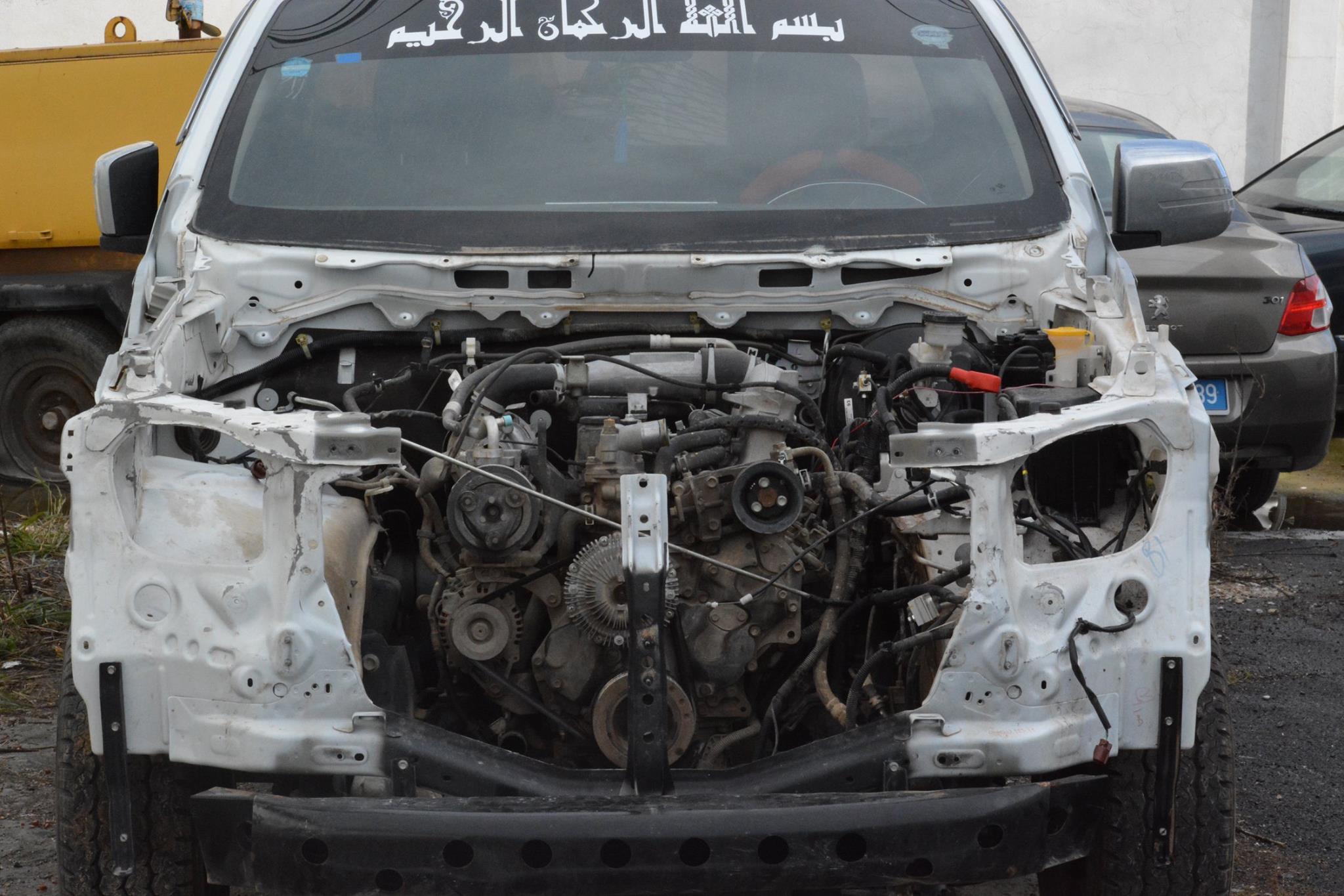 (Photos): Arrestation d'un individu ayant volé des voitures pour les revendre en pièces détachées