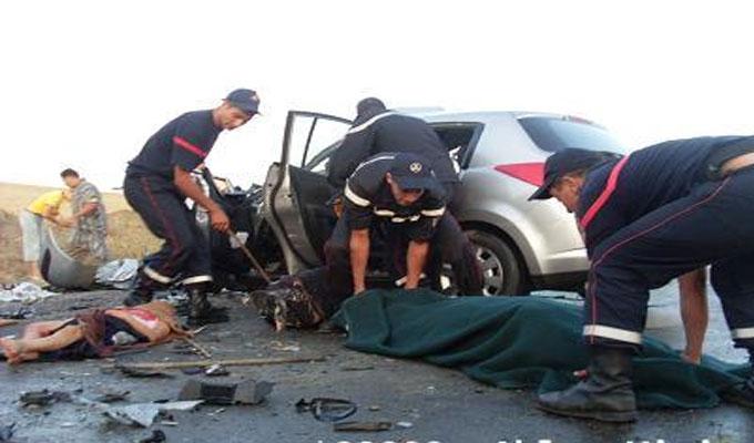 Trois morts et quatre blessés dans un accident de la route entre Tunis-Jendouba
