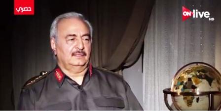 Haftar : Al Sissi a éliminé les frères musulmans d'Egypte, et nous terminerons le travail en Libye