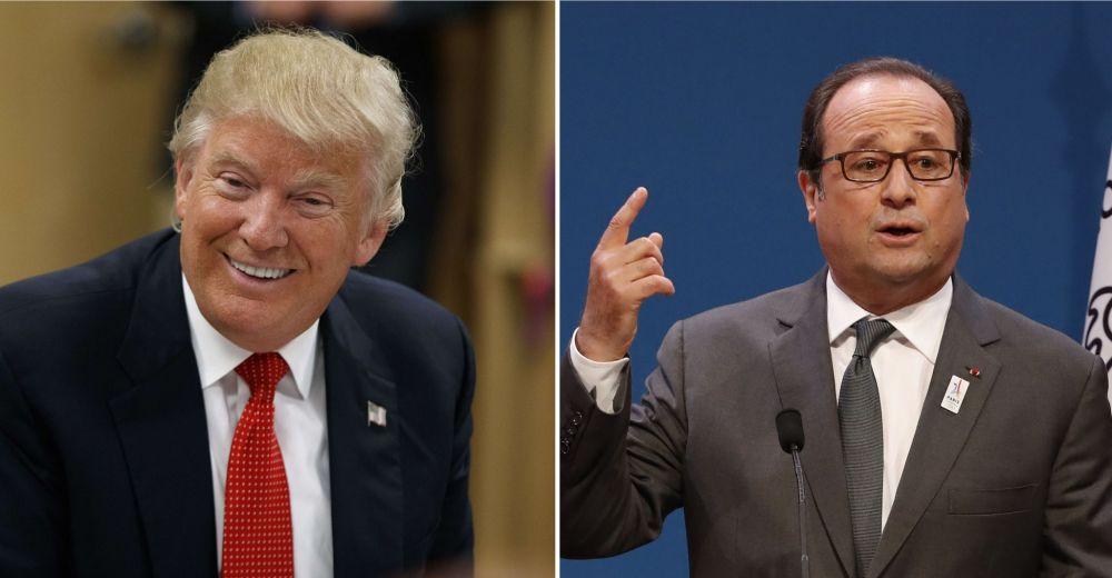 «Paris n'est plus Paris», François Hollande répond à Donald Trump!