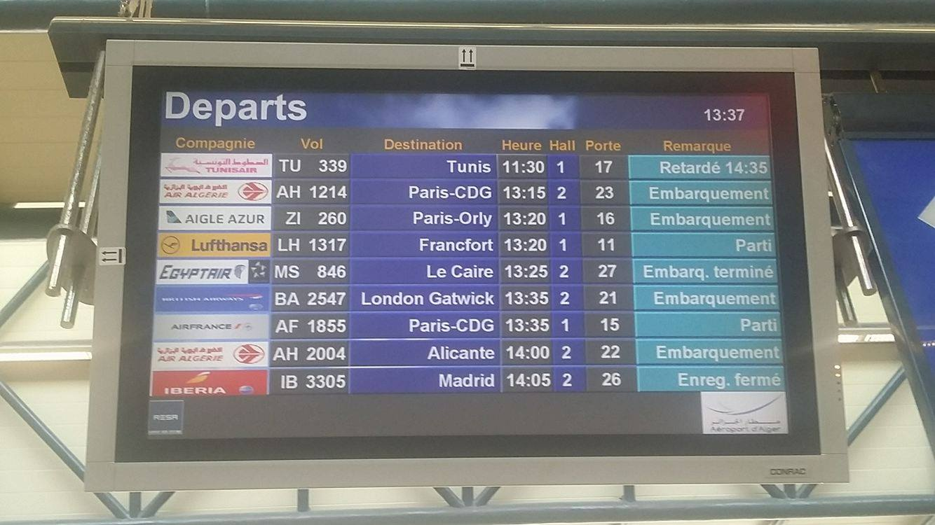[photos] : Un vol de Tunisair fait trois heures de retard : la compagnie se contente d'un «désolé»