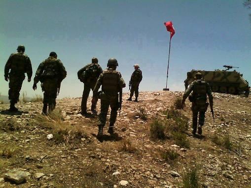Tunisie-Kasserine: L'explosion d'une mine blesse deux soldats