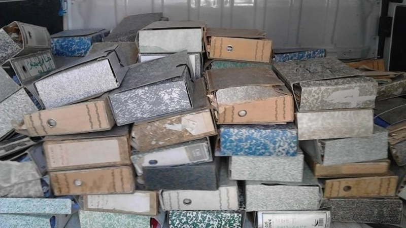 Tunisie-Kasserine: 22 tonnes d'archive de l'ancien RCD transférés aux archives nationales