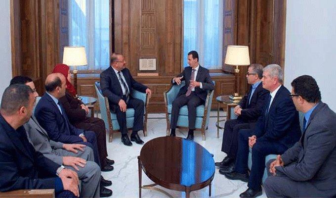 Visite en Syrie d'une délégation de députés tunisiens, entre la rupture  et le prolongement avec la diplomatie officielle !
