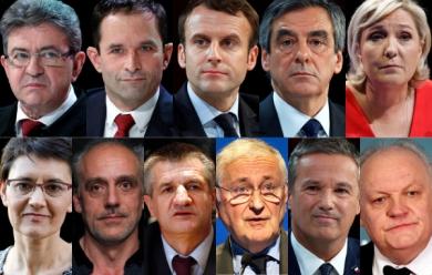 Présidentielles en France: 11 candidats qualifiés à se présenter