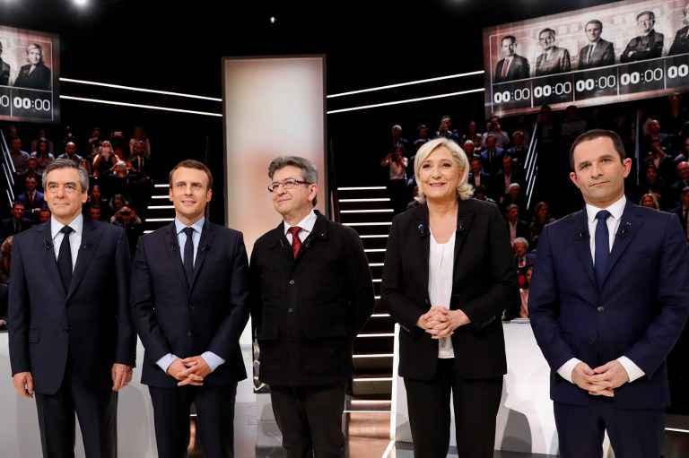 Présidentielles en France: Les accrochages du premier débat télévisé!