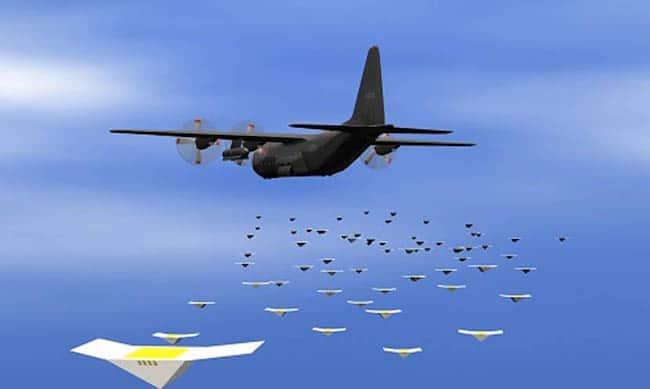 Intelligence artificielle : Le Pentagone teste avec succès des essaims de drones