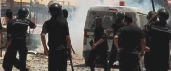 Tunisie – Des délinquants agressent des agents de la garde nationale et libèrent un dangereux individu recherché pour terrorisme