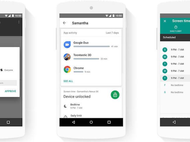 Google lance Family Link, une appli de contrôle parental pour Android