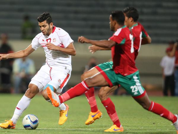 Le match Nigeria-Burkina Faso — Amical