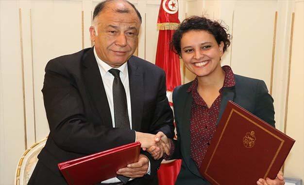 Photos les ministres tunisien et fran ais de l for Ministre francais